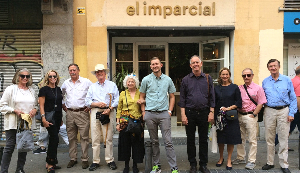 A triump!  Finding our way to El Imparcial, a great restaurant in Madrid's old center.
