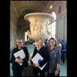 Medici Vase with (left to right) Simonetta Brandolini d'Adda, Alison Gilligan and Diana Richman